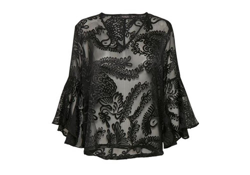 Soaked In Luxury Vada Blouse ls