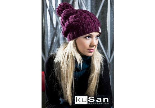 Kusan Thick Yarn Cable Floppy w/Bobble