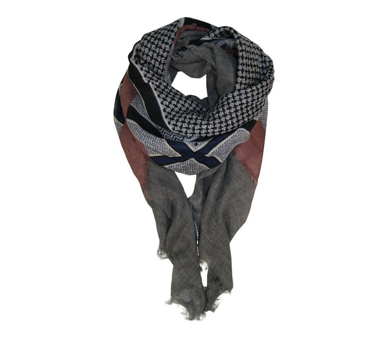 ABBY wool deluxe scarf