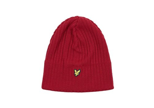 Lyle&Scott Knitted Ribbed Beanie