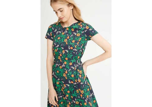 People Tree Danielle Marigold Print Dress