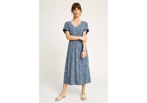 People Tree V&A Pastoral V-neck Dress