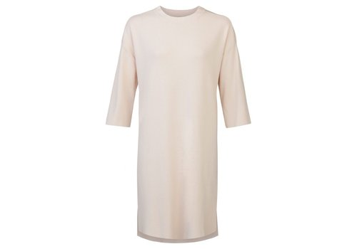 YAYA 3/4 SLEEVE DRESS WITH HIGH SLITS