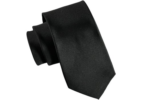 Atlas Design TIE YALE SOLID, BLACK (11309)