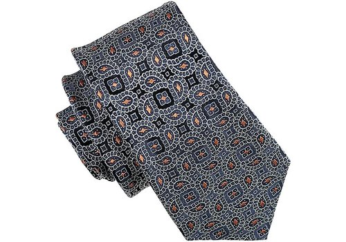 Atlas Design TIE PAISLEY, NAVY
