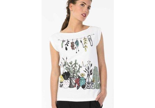 Skunkfunk KATELINA WOMEN T-SHIRT