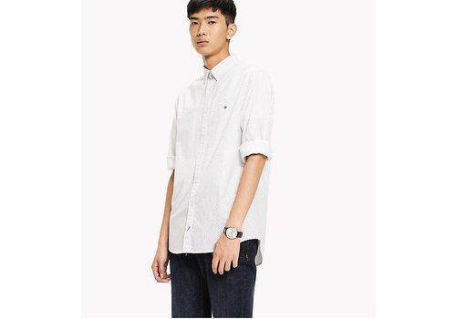 Tommy Hilfiger SLIM MICRO GEO PRINT skjorta