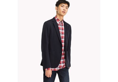 Tommy Hilfiger COTTON BLEND SLIM FIT BLAZER