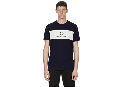 Fred Perry Embroided T-Shirt