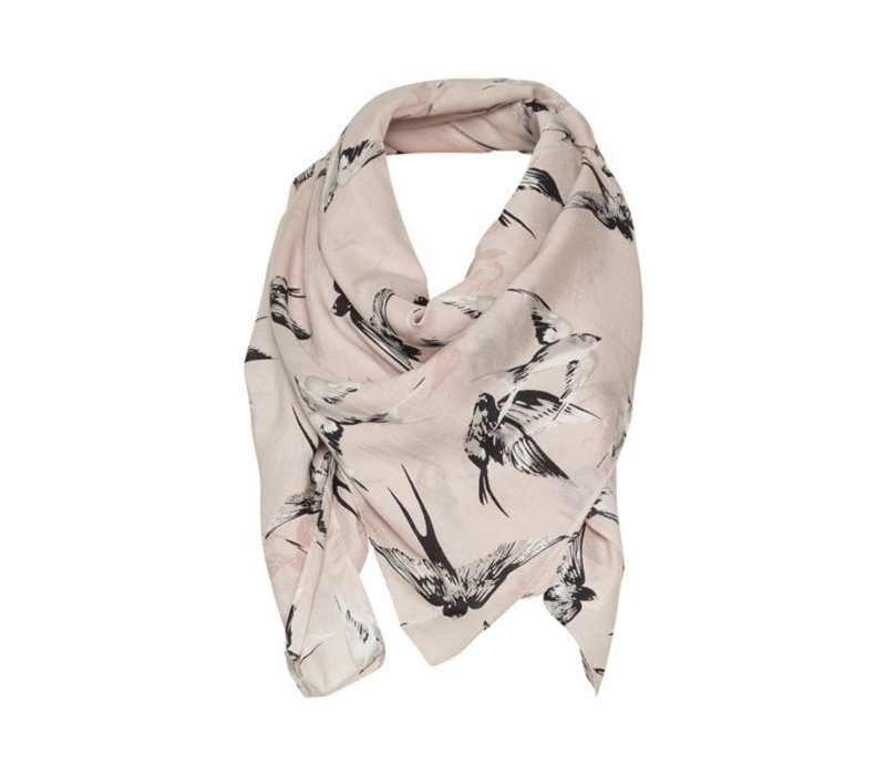 Heather Scarf-Swallows Cameo Rose