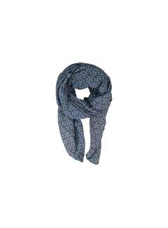 Black Colour FROST huivi-jeansblue