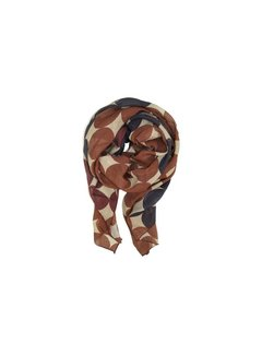 Black Colour MADISON scarf-dot