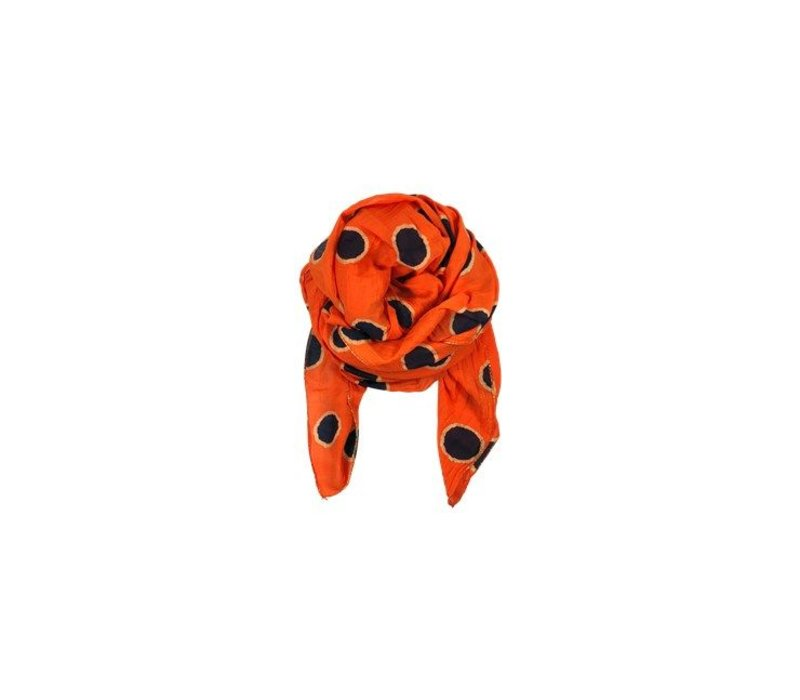 HAYLEY huivi dot-orange