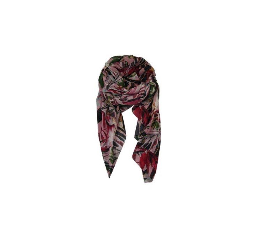 ACAPULCO scarf-rose