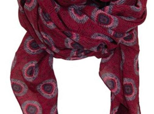 Black Colour ALBA scarf-wine