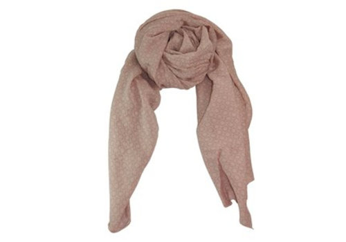 Black Colour KARLA scarf-rose