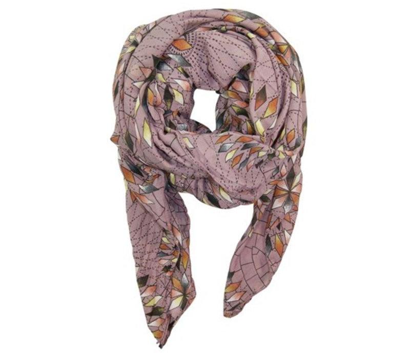 COLUMBINE scarf-lavender