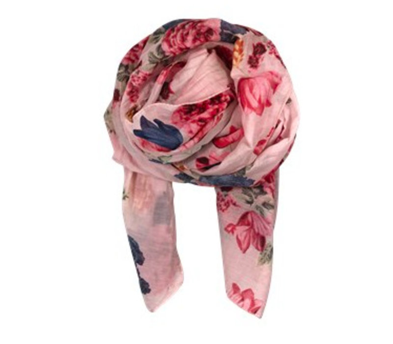 BLOOM scarf-rose