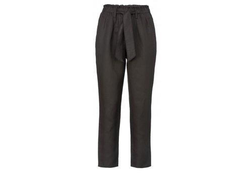 YAYA Linen paperbag waist pants