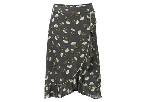YAYA Ruffle skirt small flowerprint