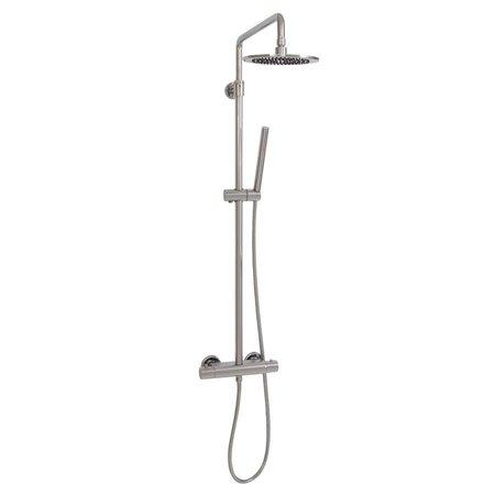 Brauer Showerpipe met regendouche 30 cm