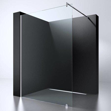 "Best Design BD ""ERICO-500"" Inloopdouche 47-49 cm NANO 8mm glas"