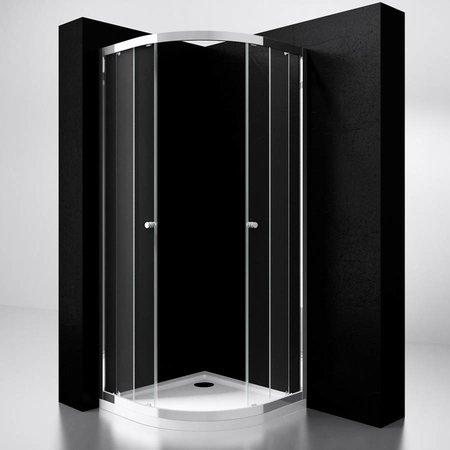 "Best Design BD ""Project"" 1/4 ronde douchecabine 80x80x190cm glas 5mm"