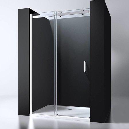 "Best Design BD ""ERICO"" nisdeur schuif verstelbaar 118-120cm H=200cm NANO glas 8mm"