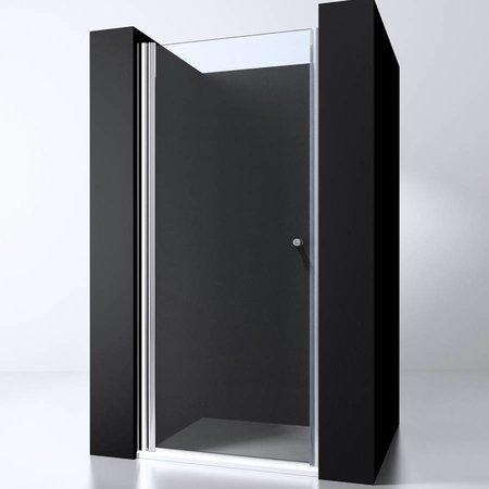 "Best Design BD ""ERICO"" nisdeur met profiel 67-71cm H=200cm NANO glas 6mm"