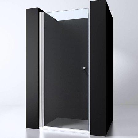 "Best Design BD ""ERICO"" nisdeur met profiel 97-101cm H=200cm NANO glas 6mm"