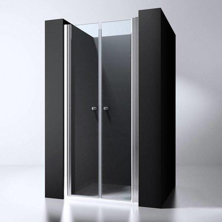 """Best Design BD """"ERICO"""" Pendeldeur met profiel 86-89cm H=200cm NANO glas 6mm"""