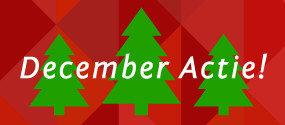 December maand Actie maand bij Sanitair Brabant!