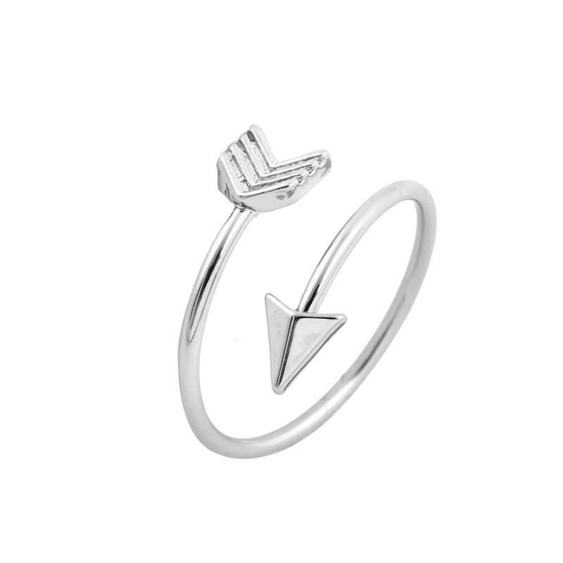 Lovelymusthaves Arrow arrow boho bohemian style adjustable ring