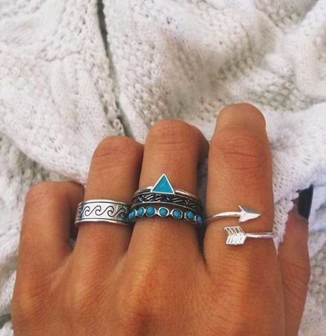 Lovelymusthaves Lovelymusthaves - Arrow boho bohemian style adjustable ring silver/gold/rosé