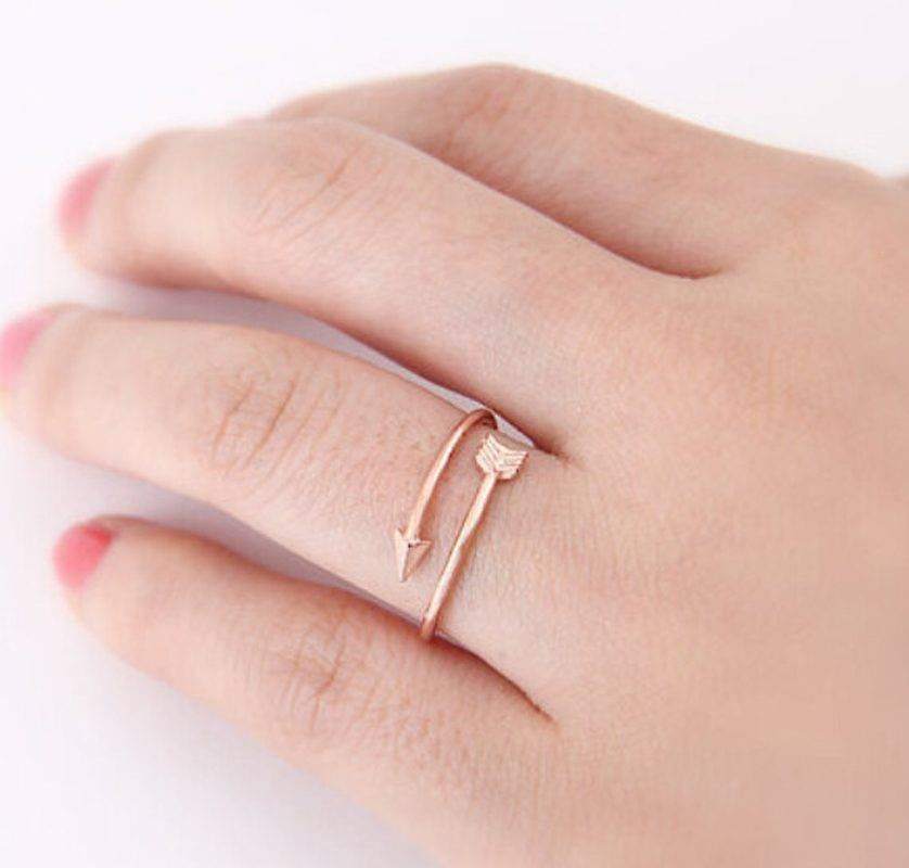 Lovelymusthaves Pijl arrow boho bohemian style verstelbare ring