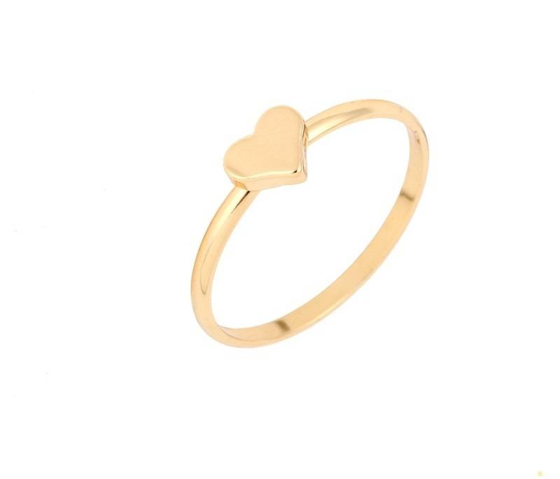 Lovelymusthaves Heart love ring silver/gold/rosé