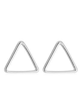 Joboly Triangle open minimalistische driehoek oorbellen