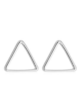 Lovelymusthaves Triangle open minimalistische driehoek oorbellen