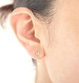 Lovelymusthaves Lovelymusthaves - Arrow boho bohemian earstuds silver/gold/rosé