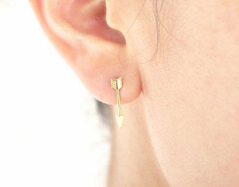 Lovelymusthaves Pijl arrow boho bohemian style oorbellen