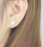Joboly Palm tree hip earrings