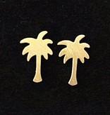 Palm tree hip earrings