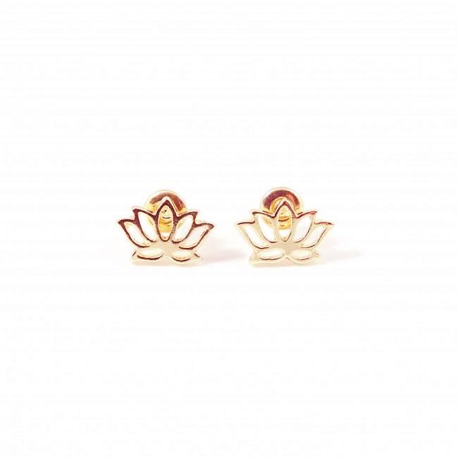 Lotus bloem hippe boho oorbellen