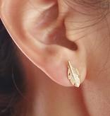 Joboly Leaf bol blad plant trendy veer oorbellen