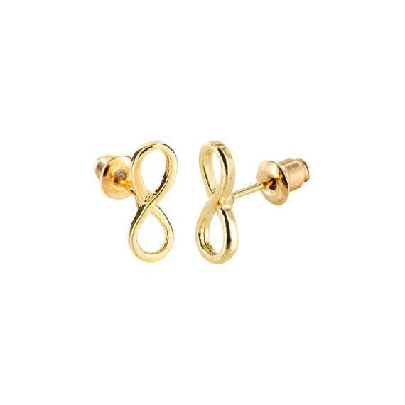 Lovelymusthaves Infinity endless infinite subtle earrings