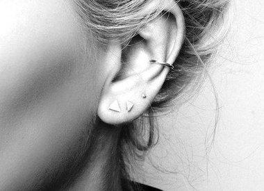 Minimalistische Ohrringe
