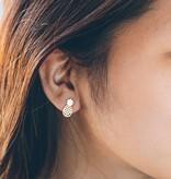 Lovelymusthaves Pineapple pineapple trendy earrings