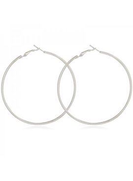 Lovelymusthaves Large round rings earrings size 4cm