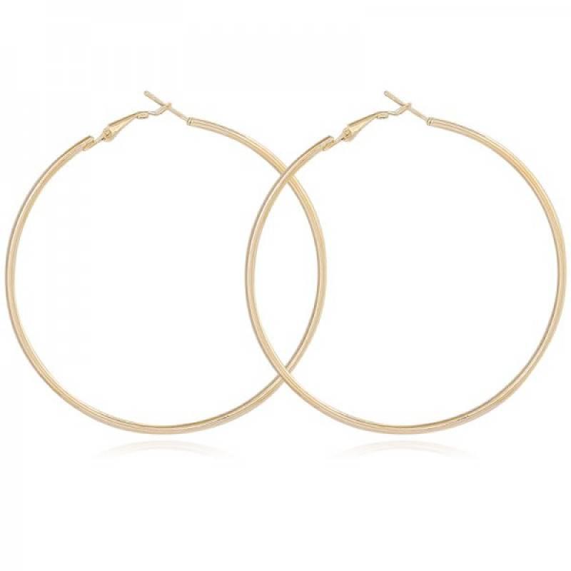 Joboly Große runde Ringe Ohrringe Größe 4cm