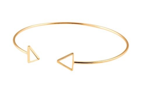 Joboly Dreieckiges minimalistisches Dreieckarmband